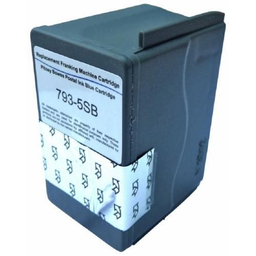Kompatibelt Blekk Blå  til Pitney-Bowes, DM100i DM125i DM150i DM175i DM200i 793-5 (Kan sendes i brev)