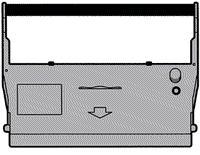 Armor Fargebånd Nylon Fiolett 1stk, erstatter Epson ERC37 F56111 (Kan sendes i brev)
