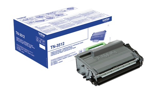 Brother Toner Sort Super Høykapasitet TN-3512 (12.000 sider) TN3512