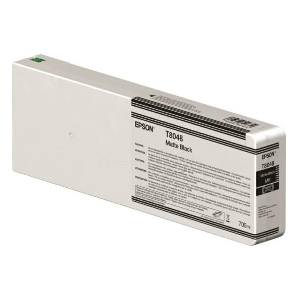Epson Blekkpatron T8048 Matt Sort (700ml) C13T804800