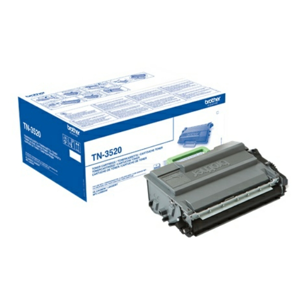 Brother Toner Sort TN-3520 (20.000 sider) TN3520