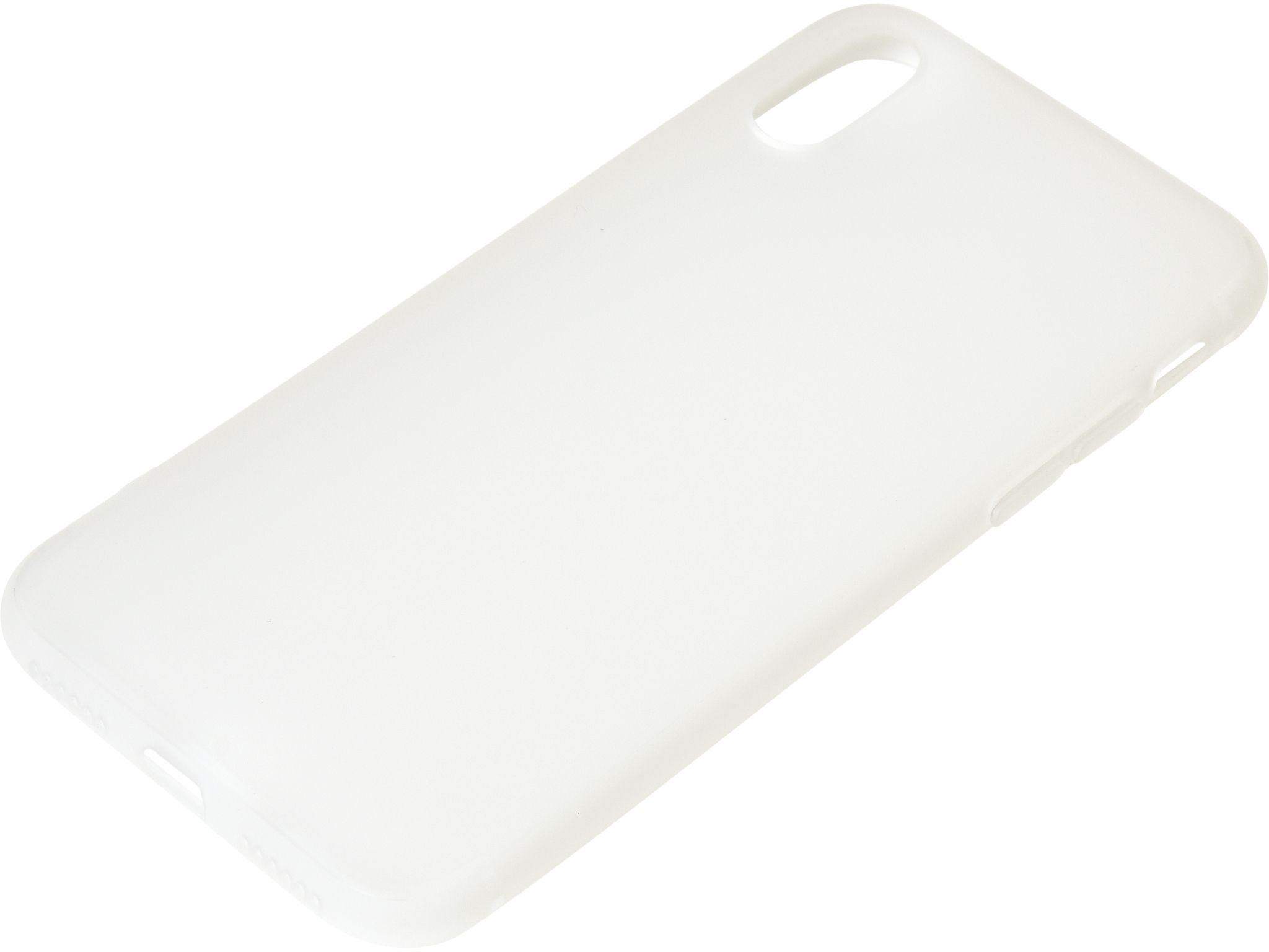 iPhone X/Xs Cover soft, White 406-30