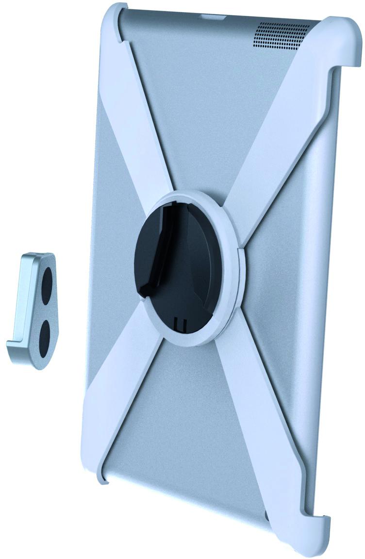 EPZI väggfäste för iPad 2/3/4, 360 grader rotation, vit ARM-429 (Kan sendes i brev)
