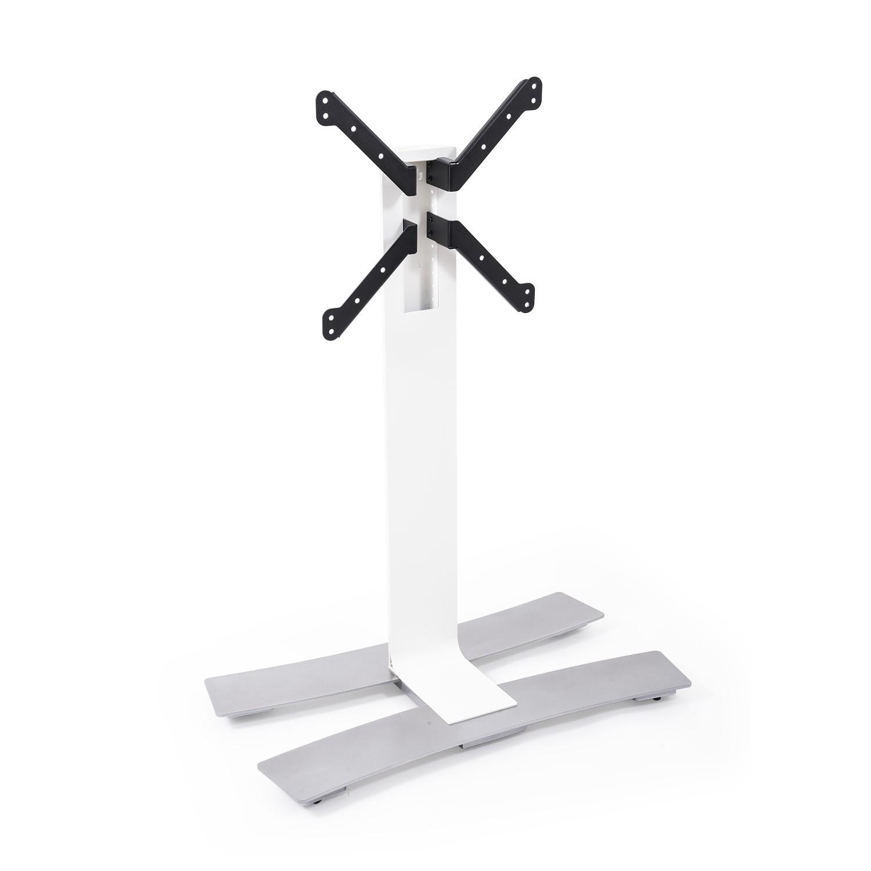 Erard ERAD WILL 1050 TV floor stand on wheels, 1050mm high, white 039020
