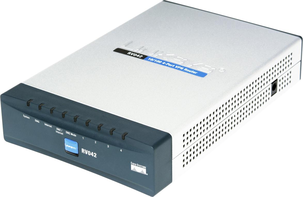 Cisco Small Business RV042 VPN Router RV042-EU