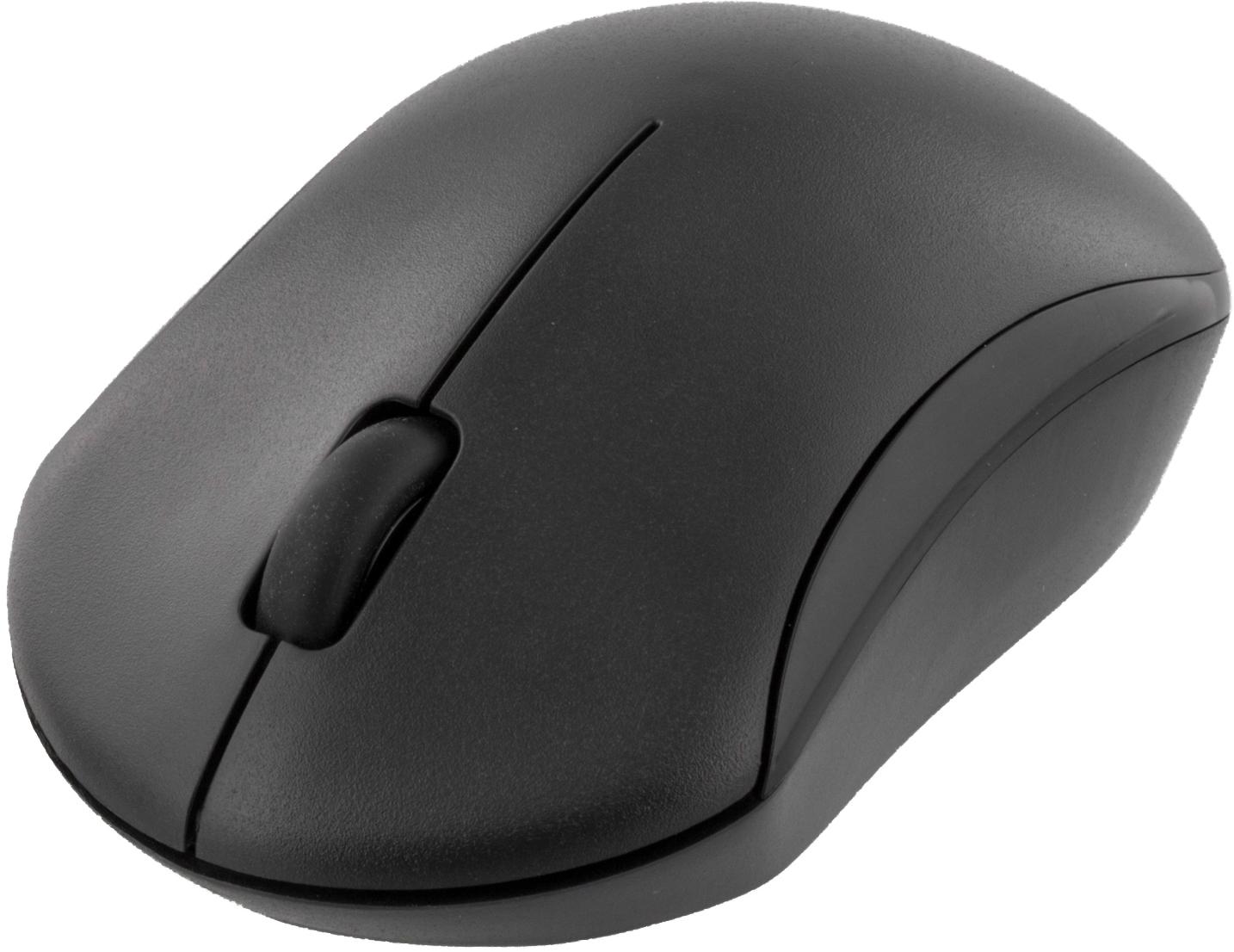 TB 124 Deltaco trådløst tastatur og mus, USB, 10m, nordisk