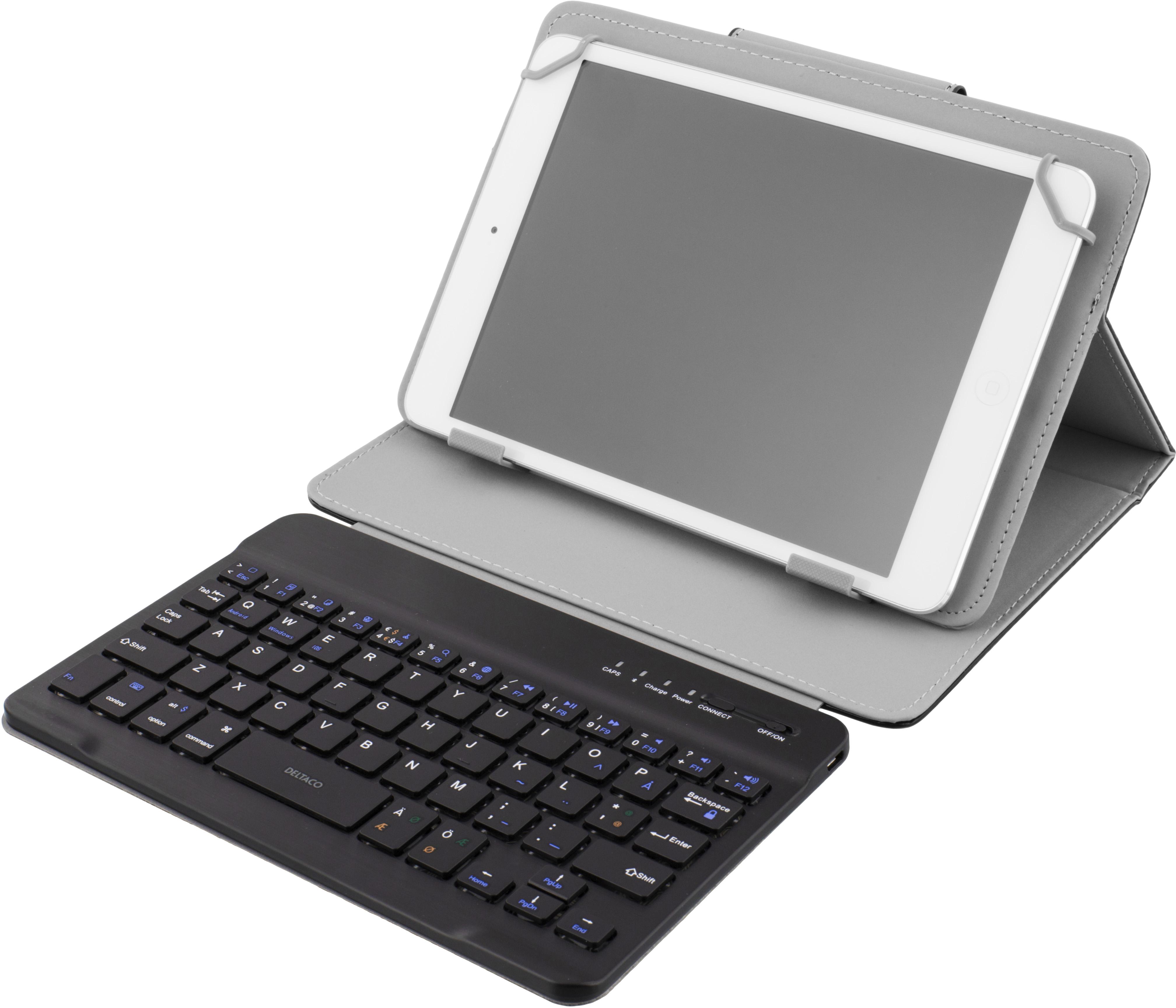 Deltaco deksel med tastatur for 7