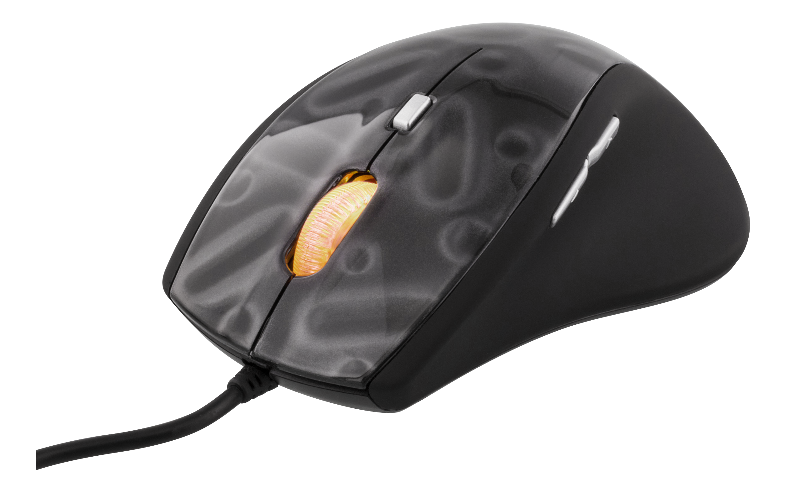 DELTACO GAMING optical mouse, 500-1600 DPI, 5 buttons, scroll wheel, GAM-013 (Kan sendes i brev)