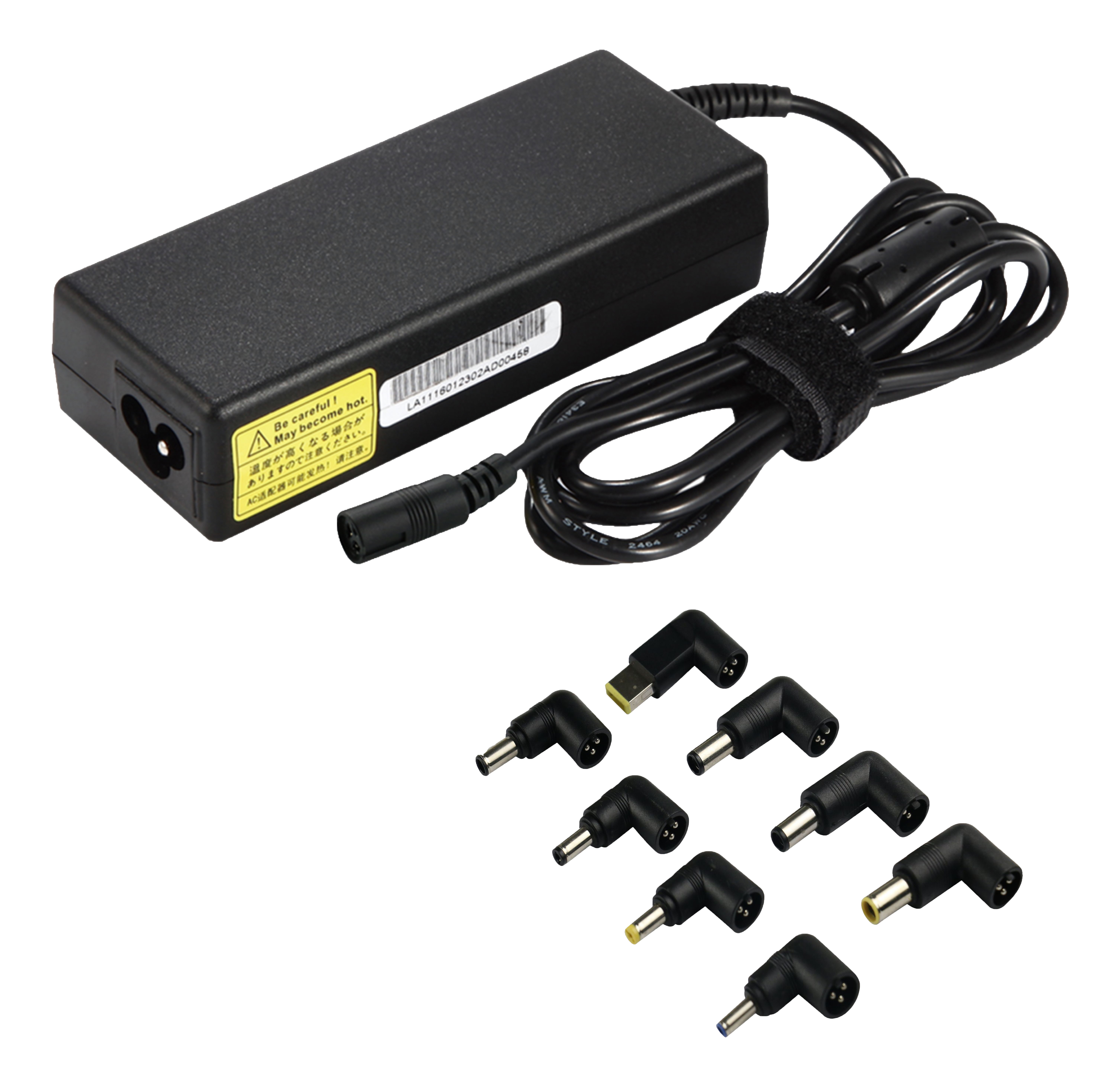 Epzi Universal power adapter for laptops, 90W, 15-20V/6A (max), black AFUA0908