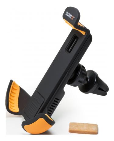 Technaxx Aroma Car Holder TE15 for Smartphones of 3.5-6 inches, black TEC-4709