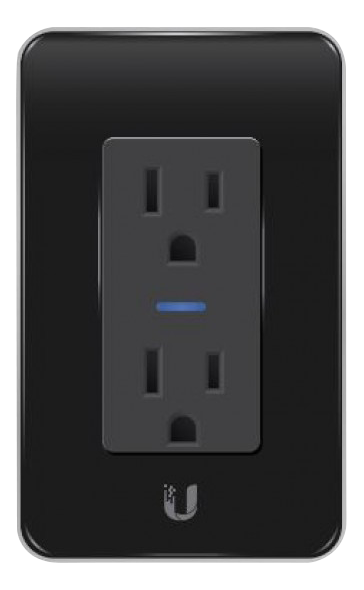 mFI IN-Wall device outlet wifi black US model 110V mFi-MPW
