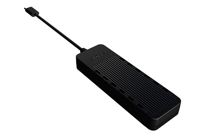 ICY DOCK ICY BOX External M.2 enclosure, USB-C, USB 3.1 Gen 2, svart IB-185M2