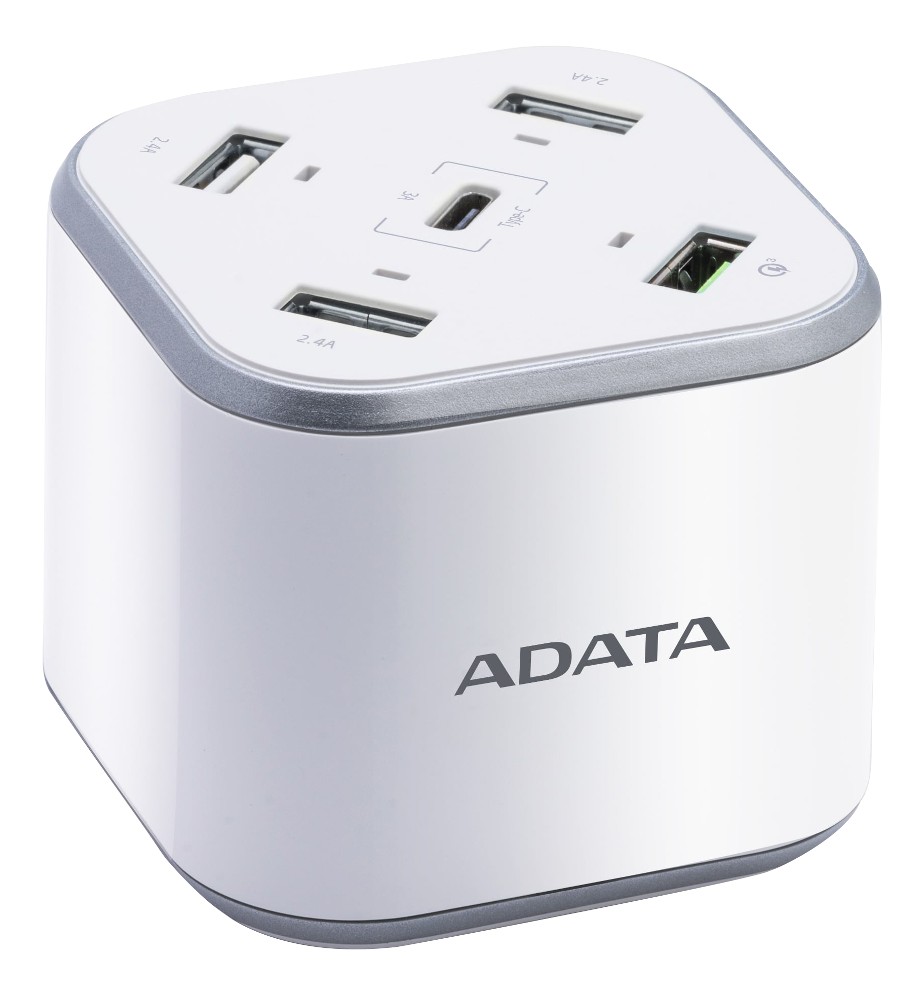 Adata  48W USB Wall Charger QuickCharge 3.0 ACU0480QCPS-CEUWH