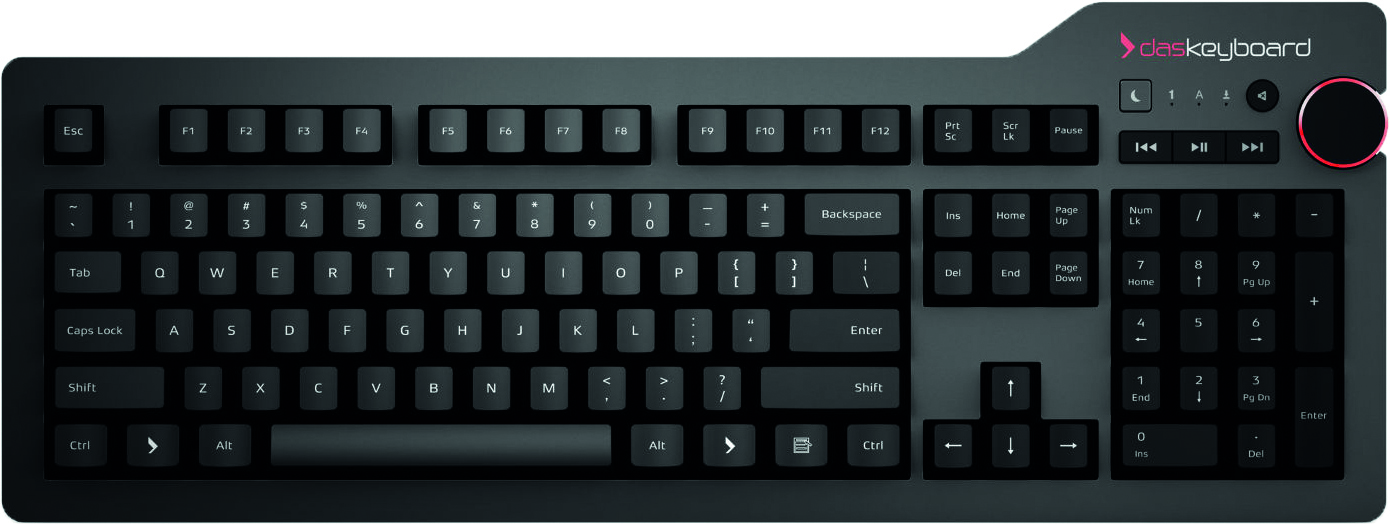 DASKEY Das Keyboard 4 Professional, US layout, MX Blue