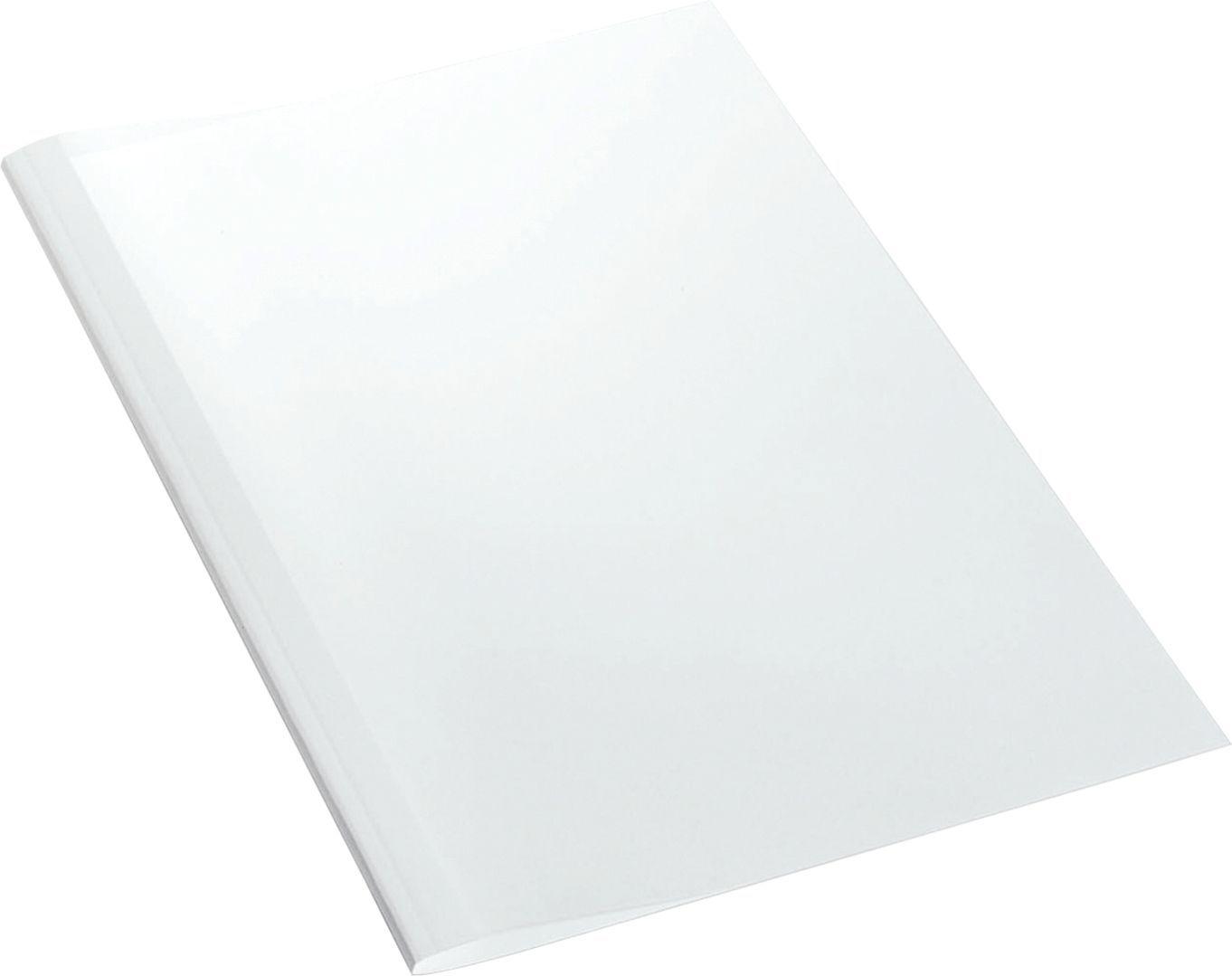 Leitz Liminnbindingsmappe 3mm hvit (25) 177115