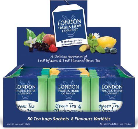 London Te grønn 8 fruktsmaker (80) TE80108