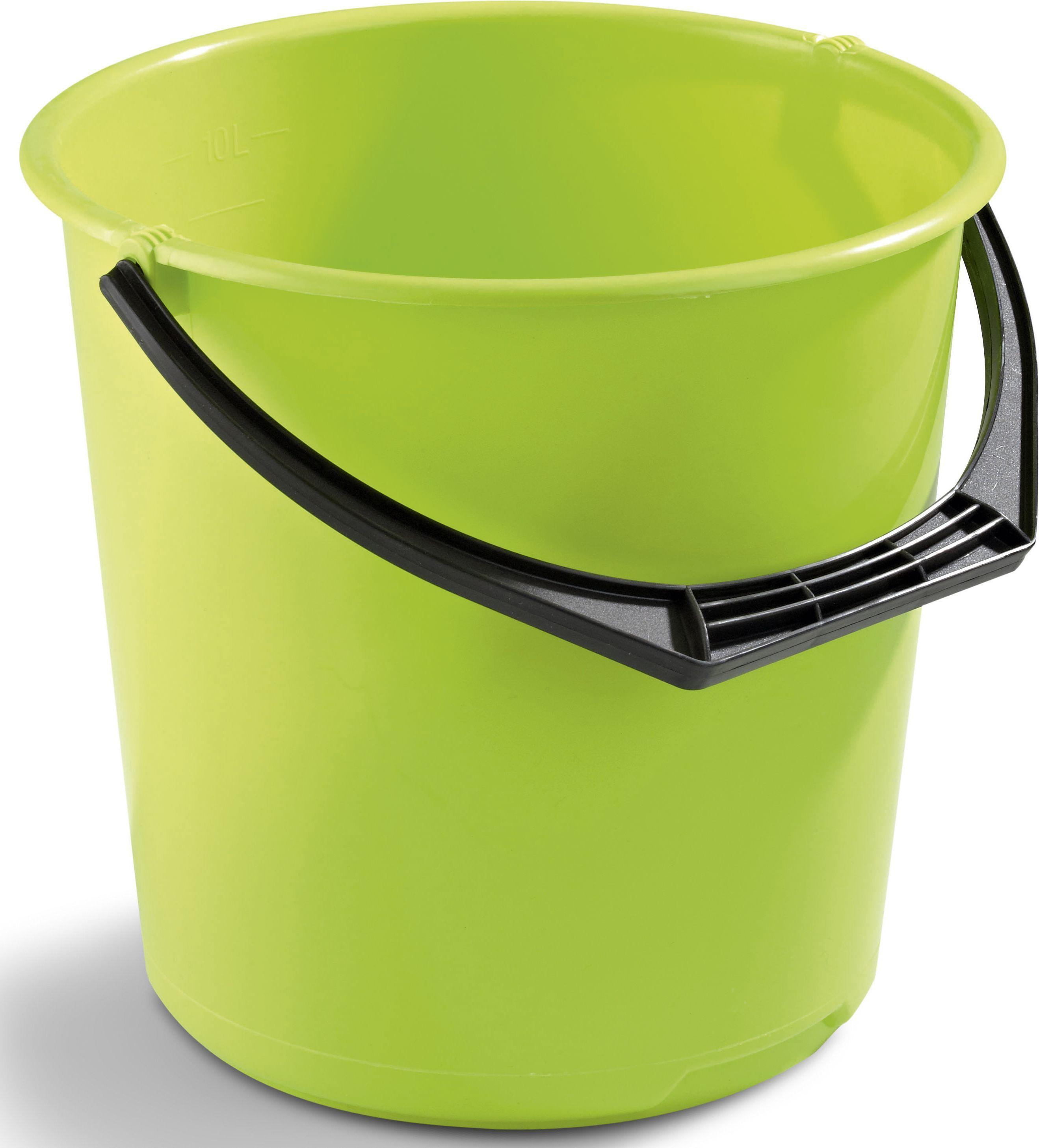 Bøtte plast 10L limegrøn 11110802