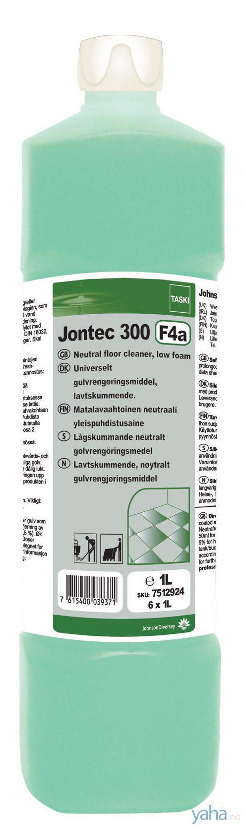 Taski Rengjøring Jontec 300 1L 7512924