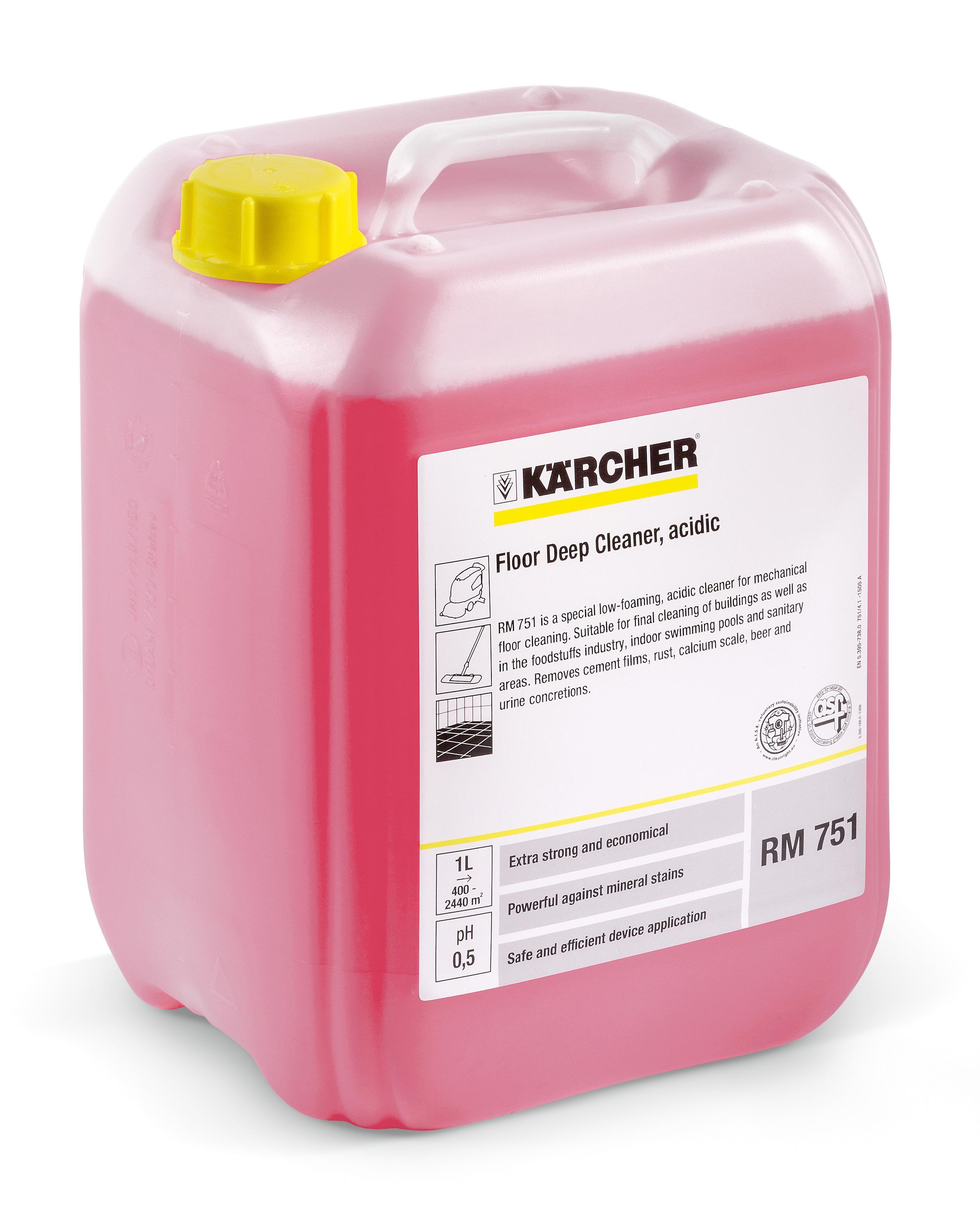 Kärcher Rengjøring RM 751 10L (flaske med 10 l) 6.295-129.0