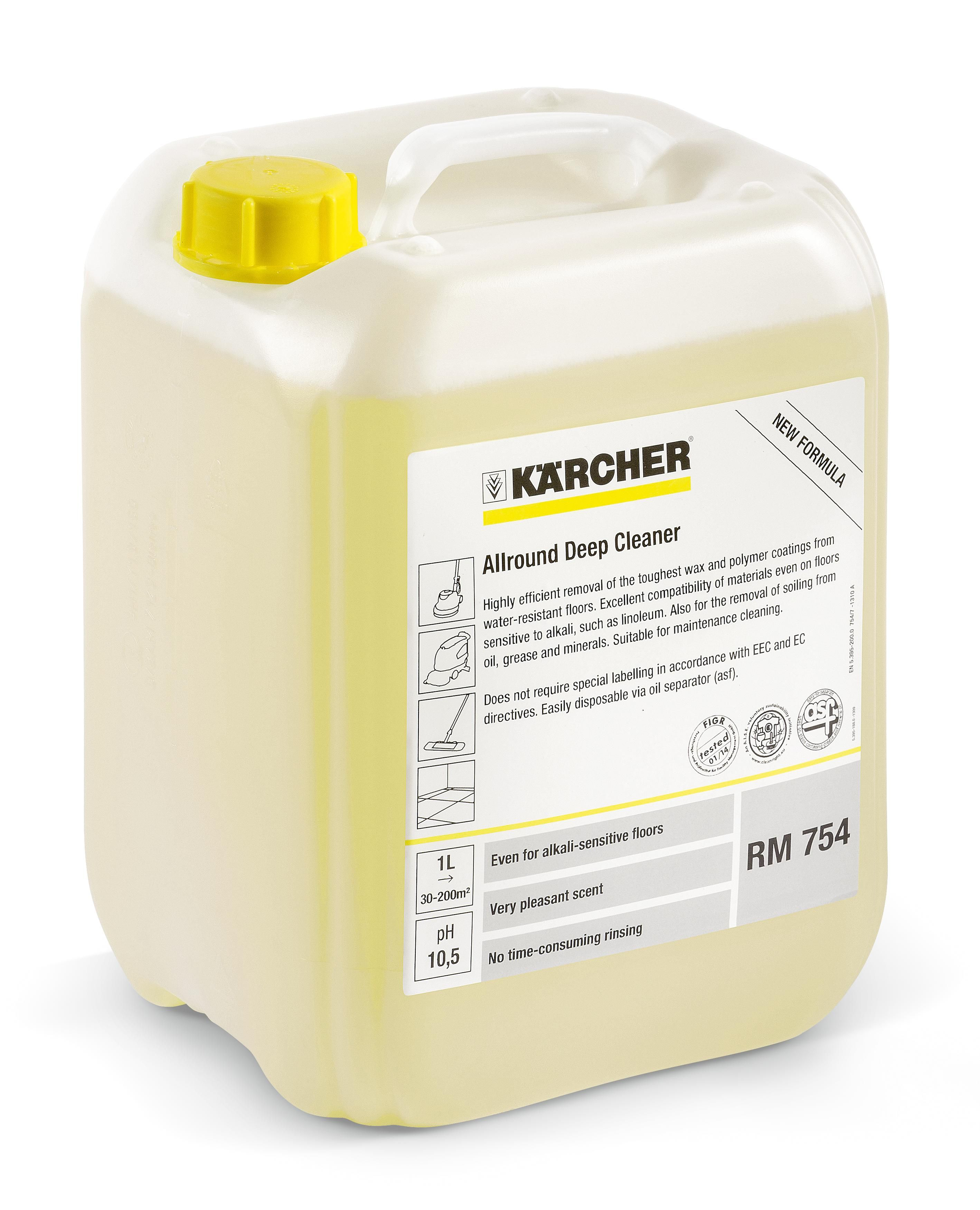 Kärcher Rengjøring RM 754 ASF 10L (flaske med 10 l) 6.295-811.0