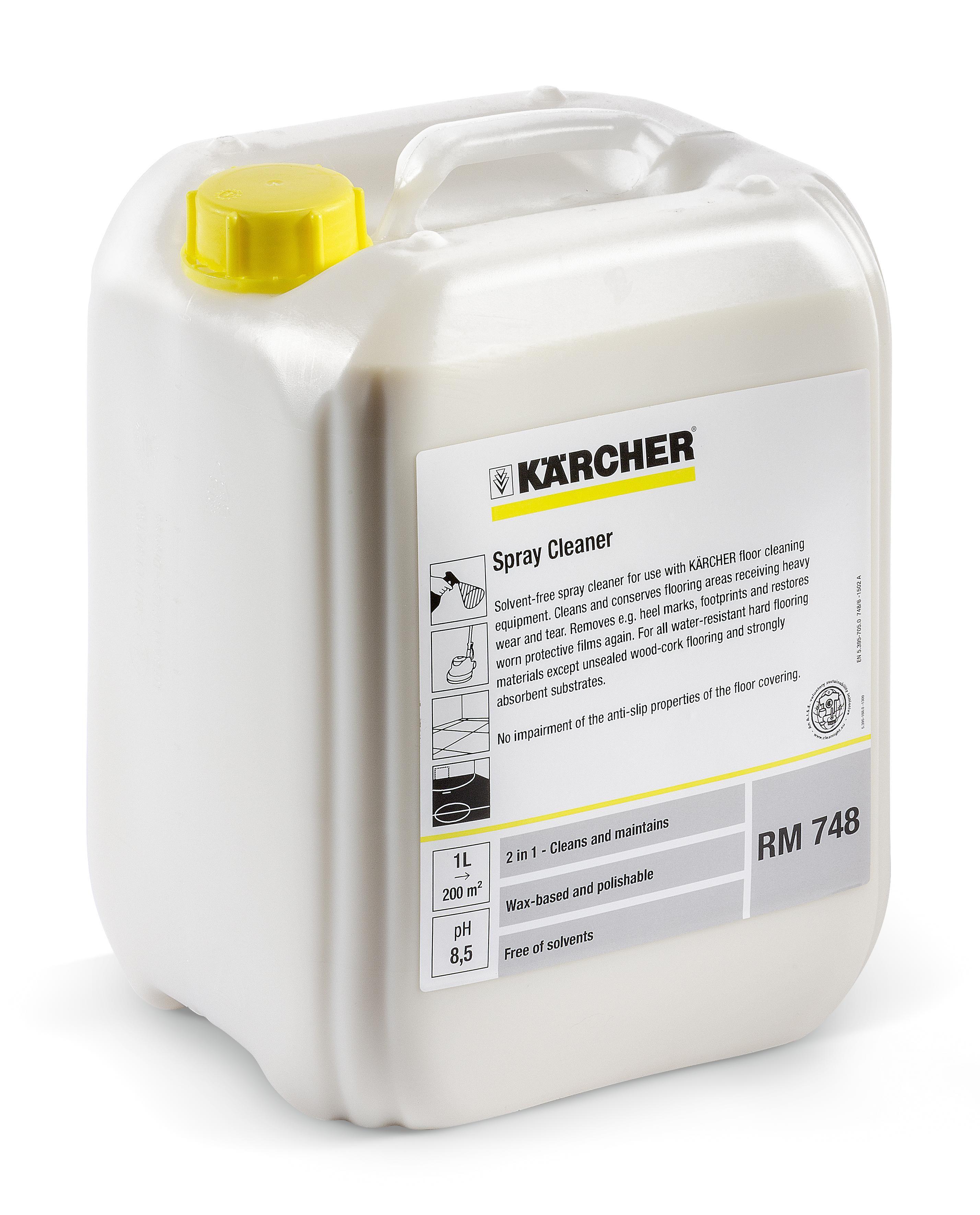 Kärcher Rengjøring RM 748 10L (flaske med 101 l) 6.295-162.0
