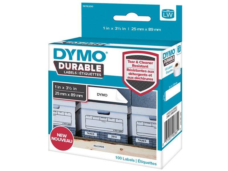 Dymo Etikett til hyller 25x 89mm (100) 1976200 (Kan sendes i brev)