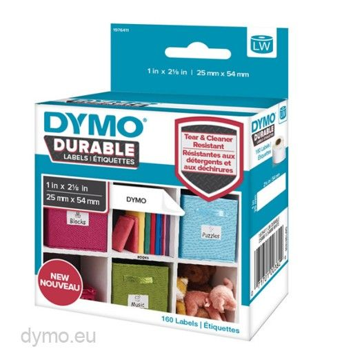 Dymo Etikett flerbruk 25x54mm (160) 1976411 (Kan sendes i brev)