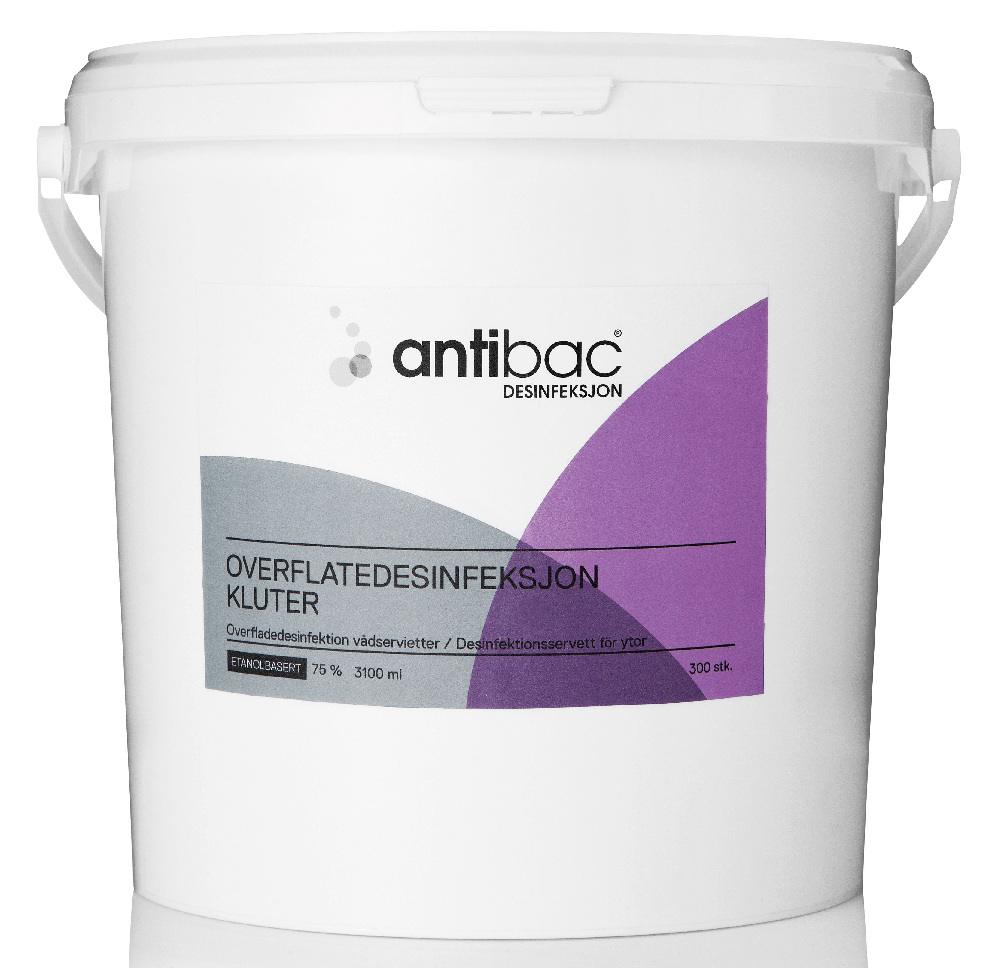 Antibac Overflatedesinfeksjon bøtte(300) 603047