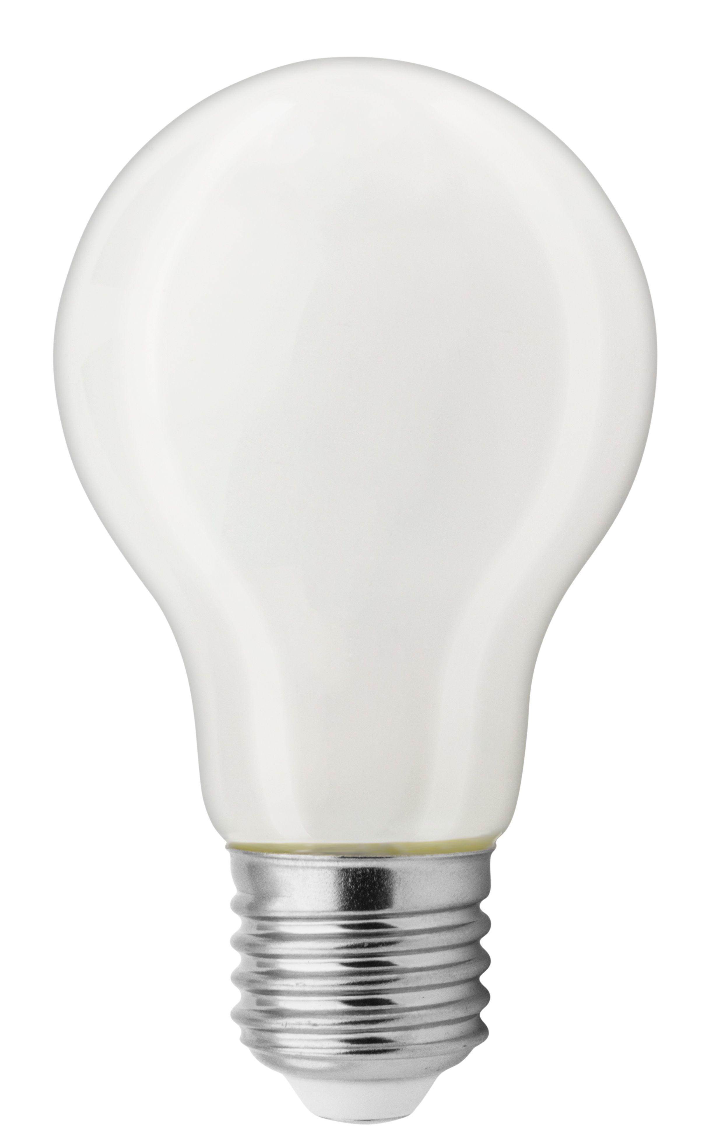 GE Lyspære LED Glass Norm. 8W E27 93046030 (Kan sendes i brev)
