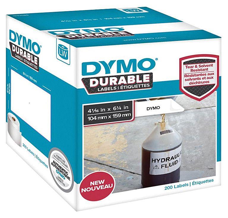 Dymo Etikett Durable 104 x 159mm 200/FP 1933086