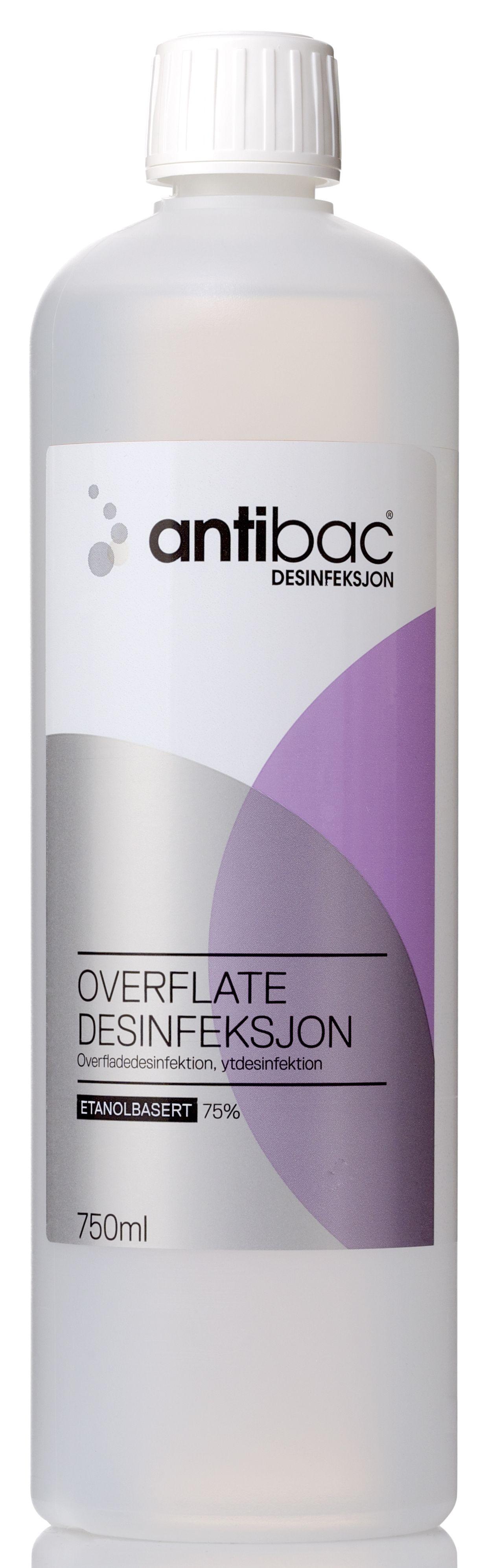 antibac Overflatedesinfeksjon 750ml, stk Y484950