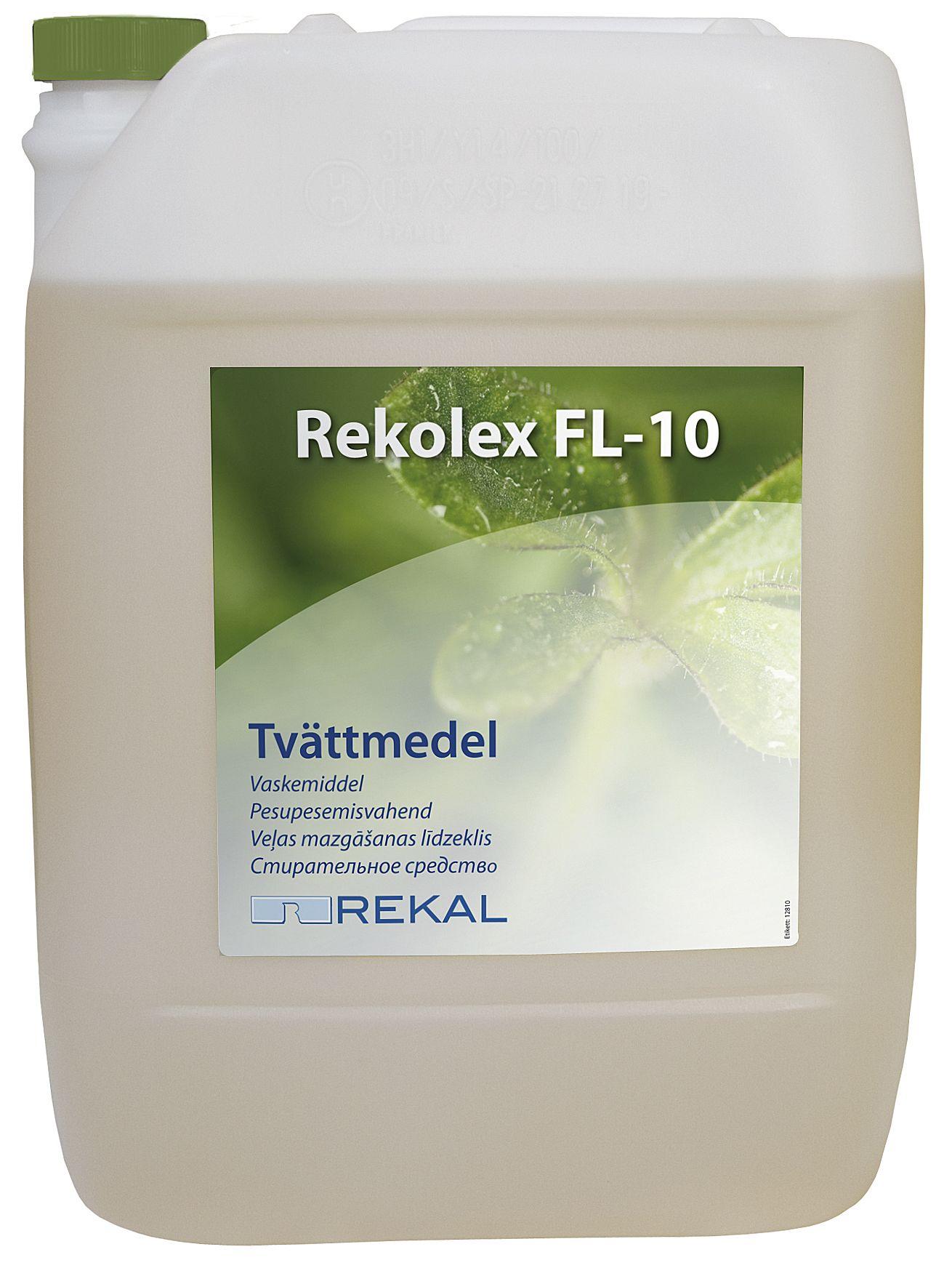 Rekolex Tøyvask FL10 10L 12810