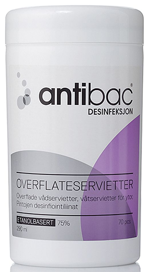Antibac Overflatedesinfeksjon (70) 601192