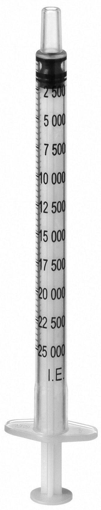 Sprøyte B.BRAUN Omnifix 1ml luer(100) 9161407V