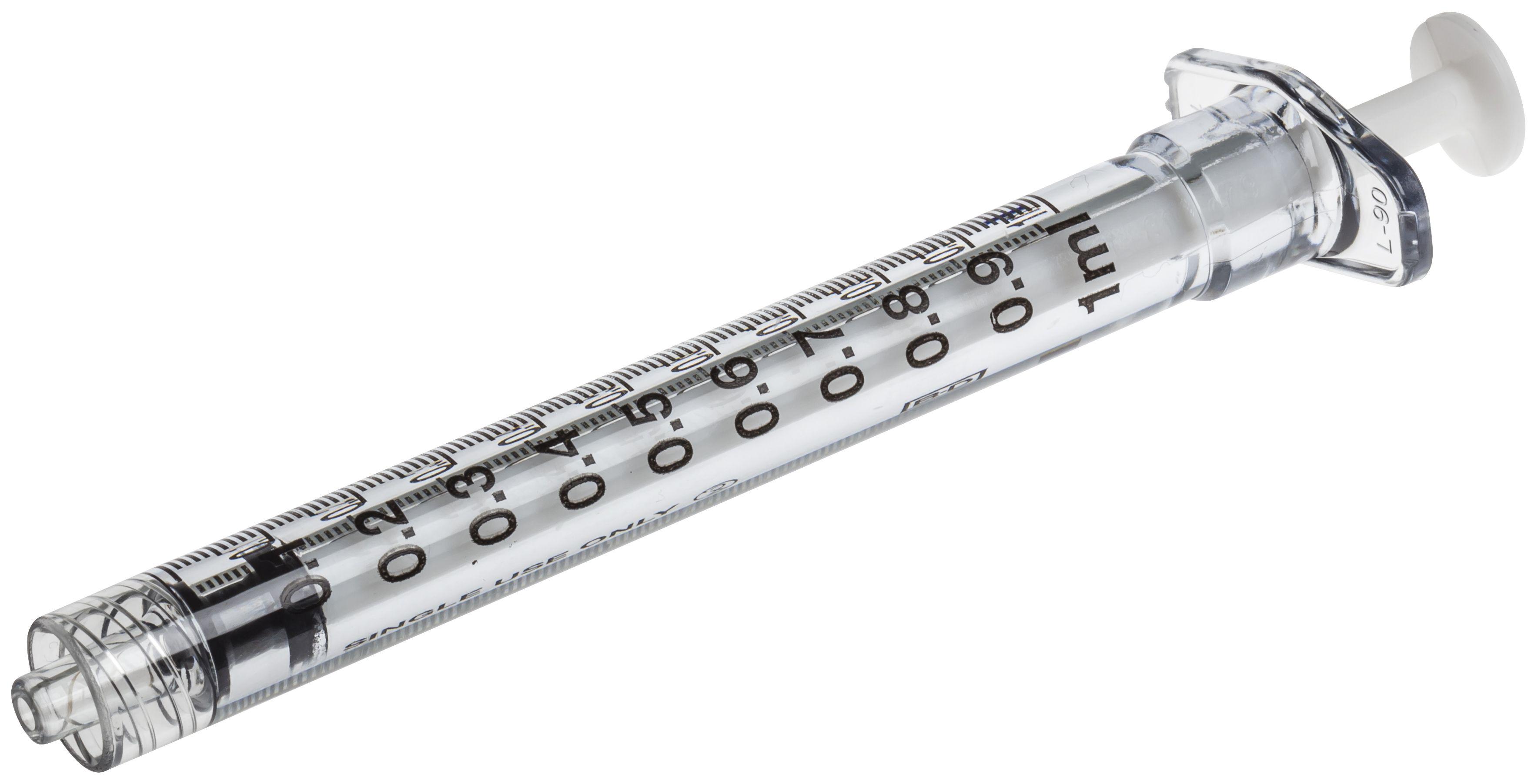 Sprøyte BD PlastiPak 1ml TB L-L Sen(100) 309628