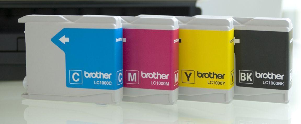 Brother Blekkpatron Sort og 3xFarge (500/3x400 sider) LC1000VALP (Kan sendes i brev)