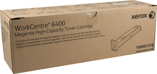 Xerox Toner Magenta 106R01318 Høykapasitet (14.000 sider) 106R01318